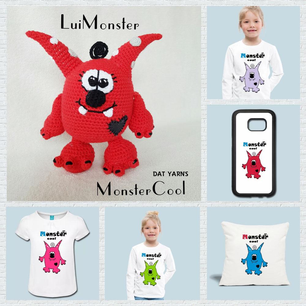LuiMonster ist zum Leben erwacht 😀 Der CAL war super und es sind viele wunderschöne Luis und Luises entstanden. In meiner Facebook-Gruppe gibt es ein Album einiger Modelle. Super süß 🤩❤  (20.04.2019)
