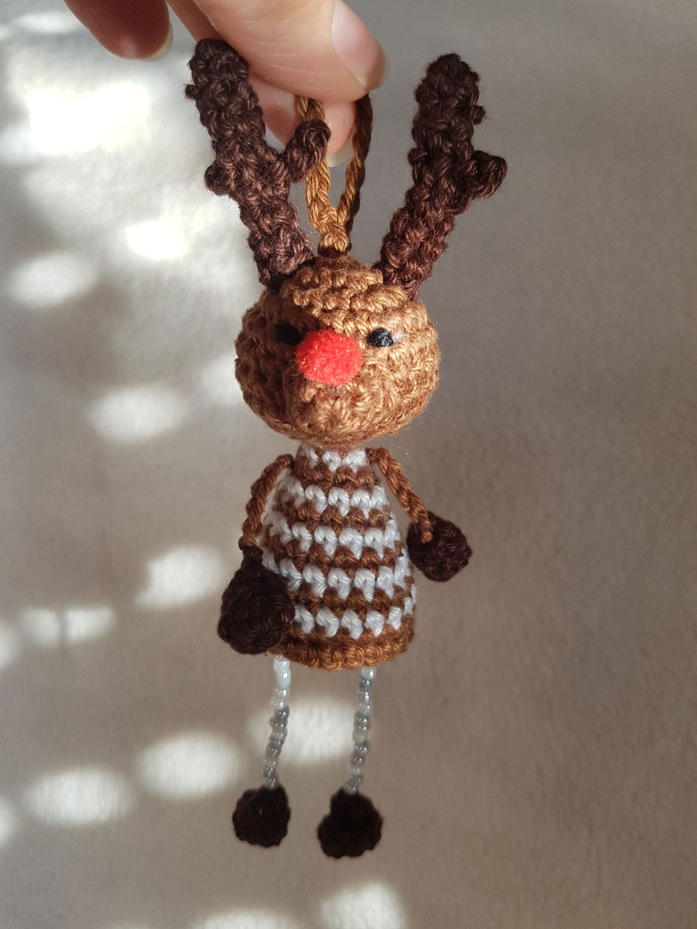 Christmasbaumler Rentier (Dat Yarn's Design)