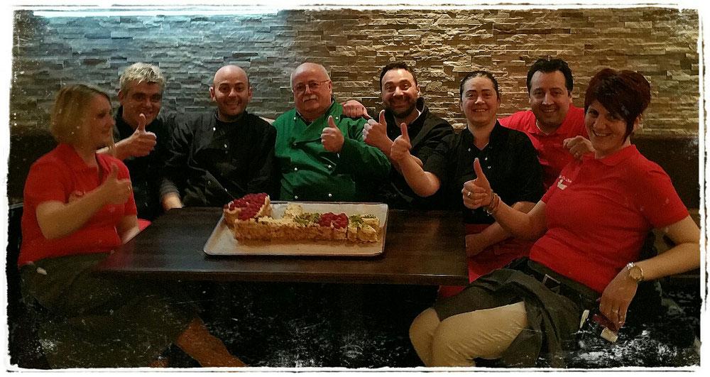 Das Team von  Castello da Chiara