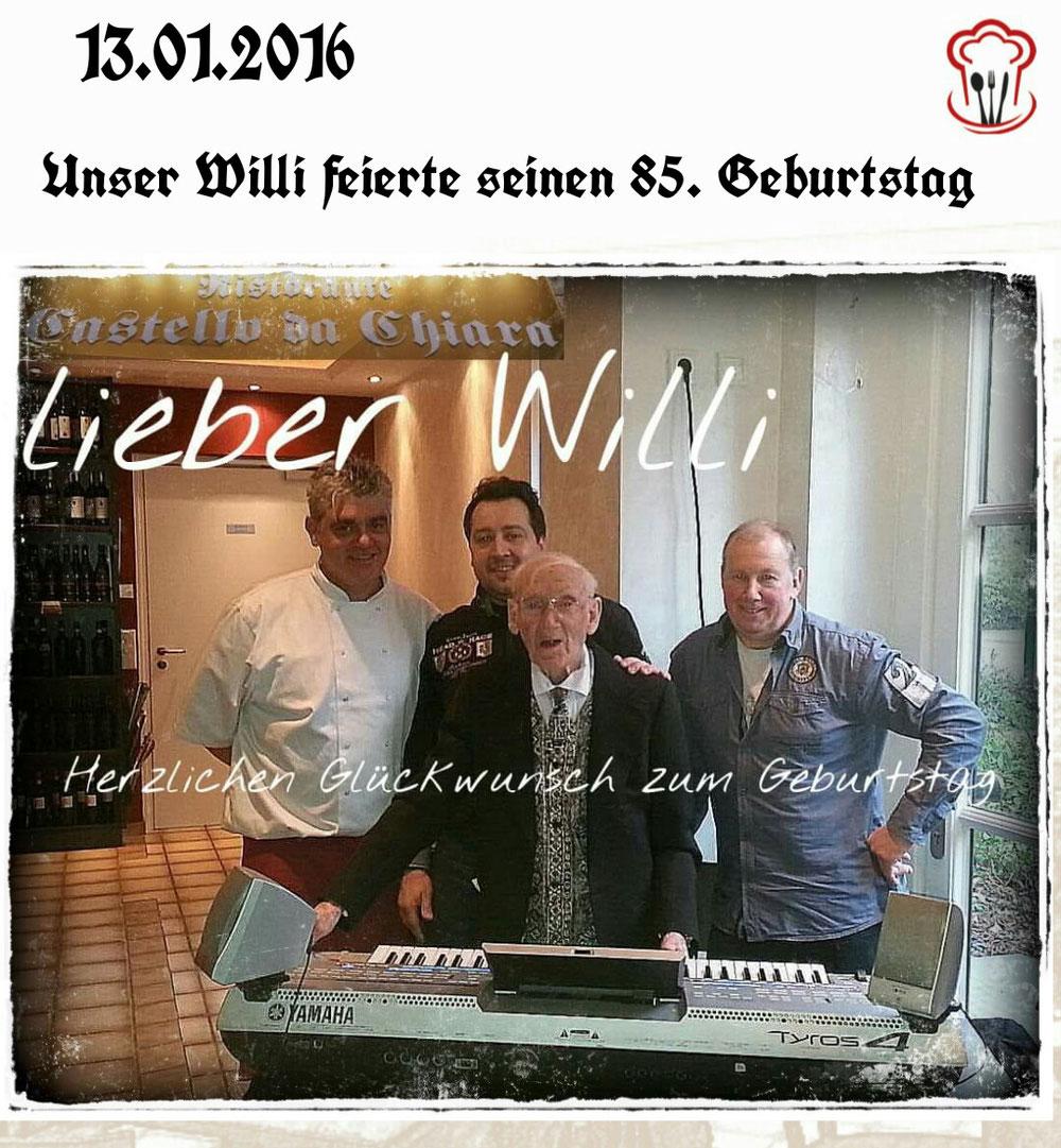 13.01.2016 / Willi 85.Geburtstag