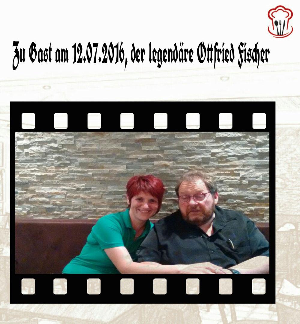 Ottfried Fischer zu Gast im Castello da Chiara