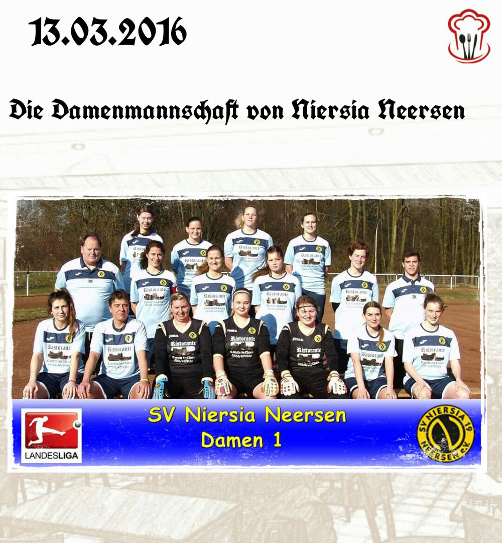 13.03.2016 / Damenmannschaft von Niersia Neersen