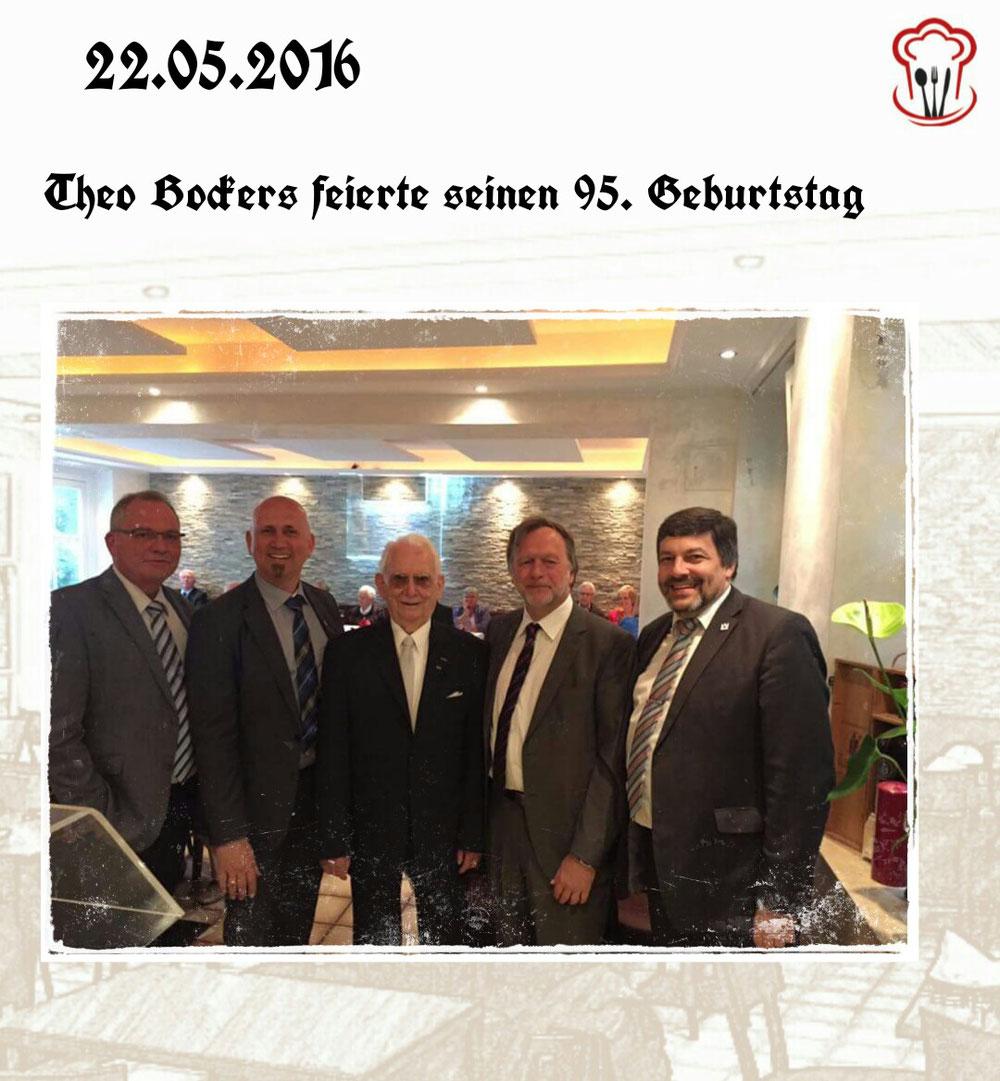 22.05.2016 / Theo Bockers 95. Geburtstag