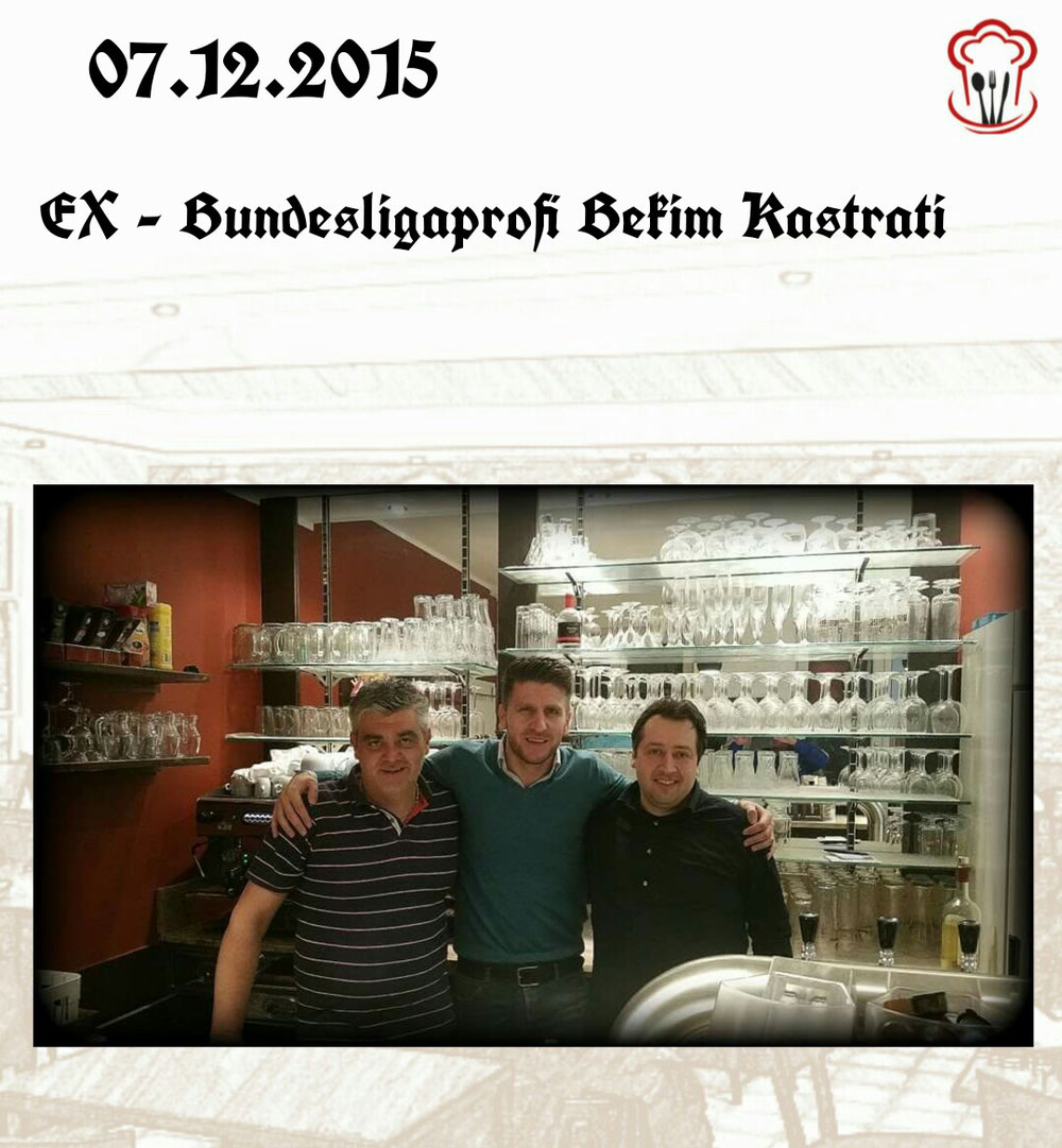 07.12.2015 / EX Bundesligaprofi Bekim Kastrati