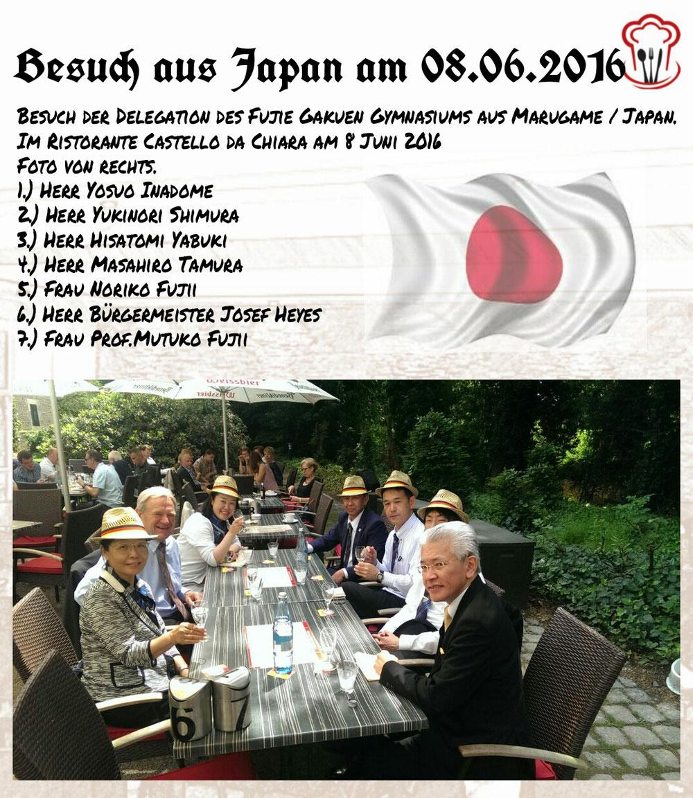 08.06.2016 / Besuch aus Japan