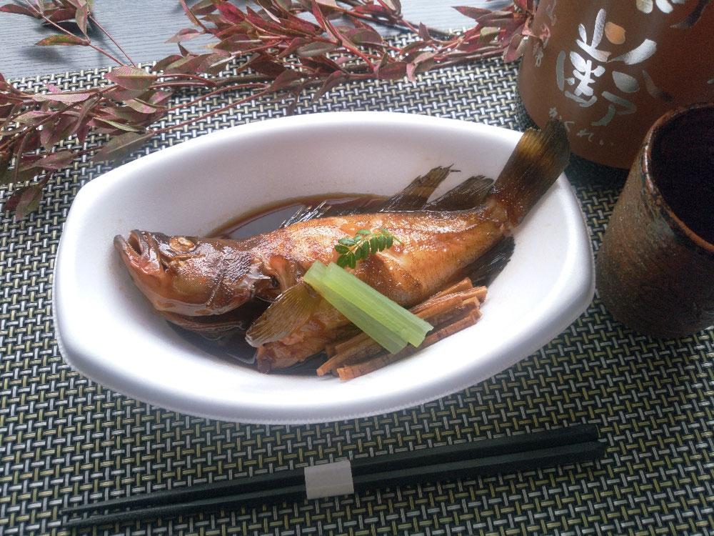 高級魚 キジハタ(あこう)煮付け