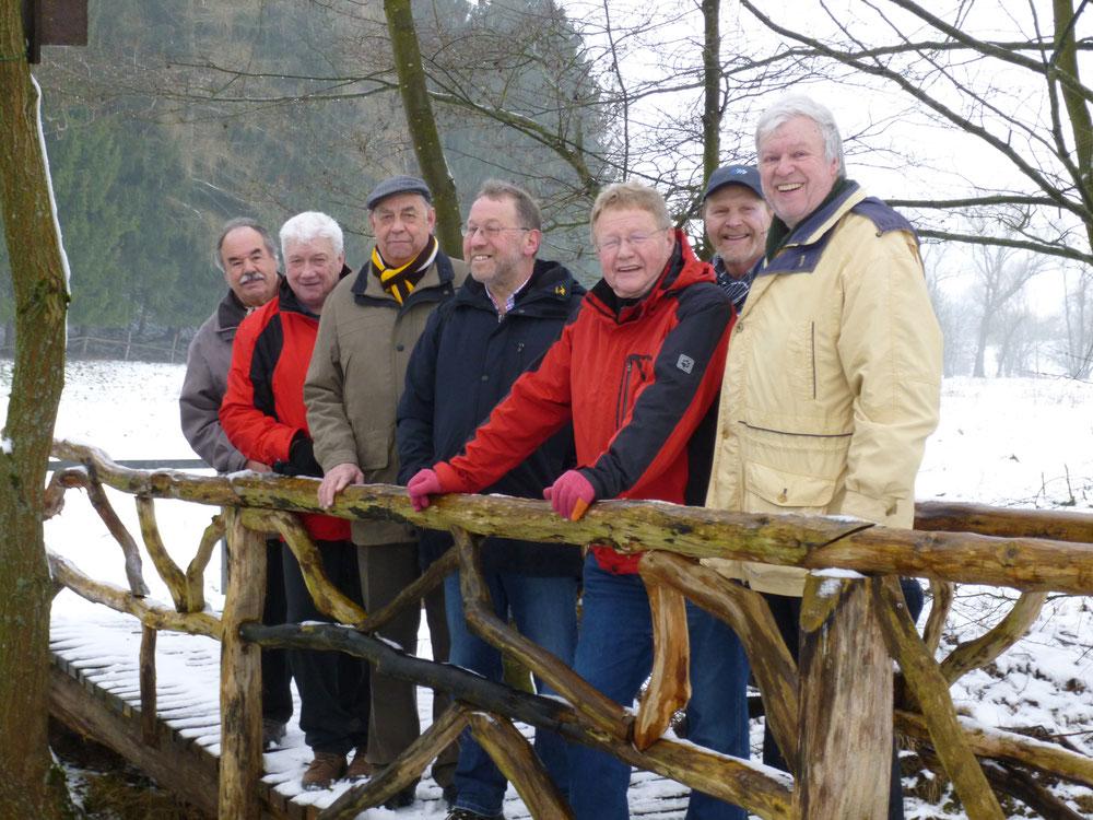 Winterwanderung über die Krambergsmühle nach Merkelbach