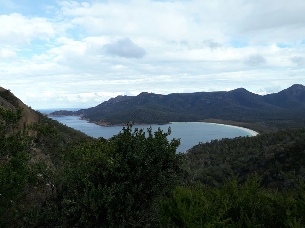 Wineglass Bay im Freycinet Nationalpark