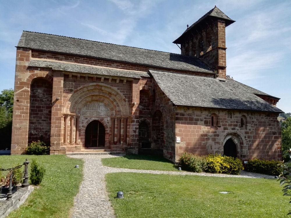 Die romanische Perser Kirche in Espalion