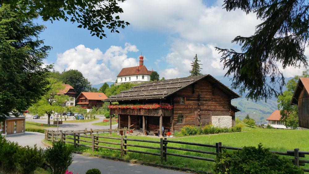 Bruder Klaus Haus in Flüe