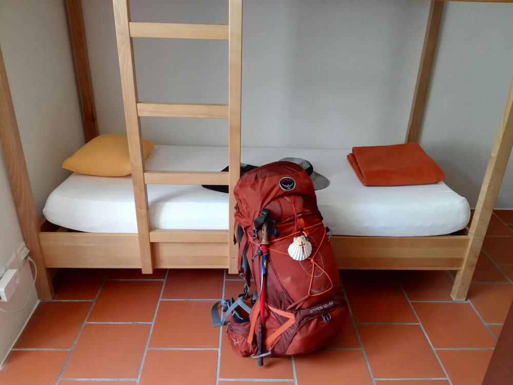Schlafraum im Kloster