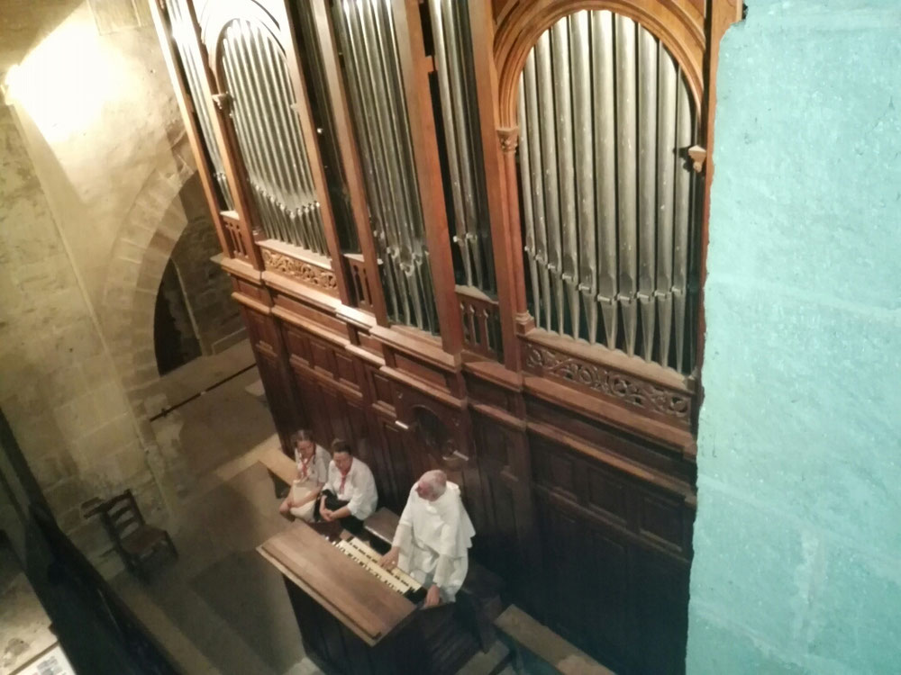 Ein Orgelkonzert in der Kathedrale