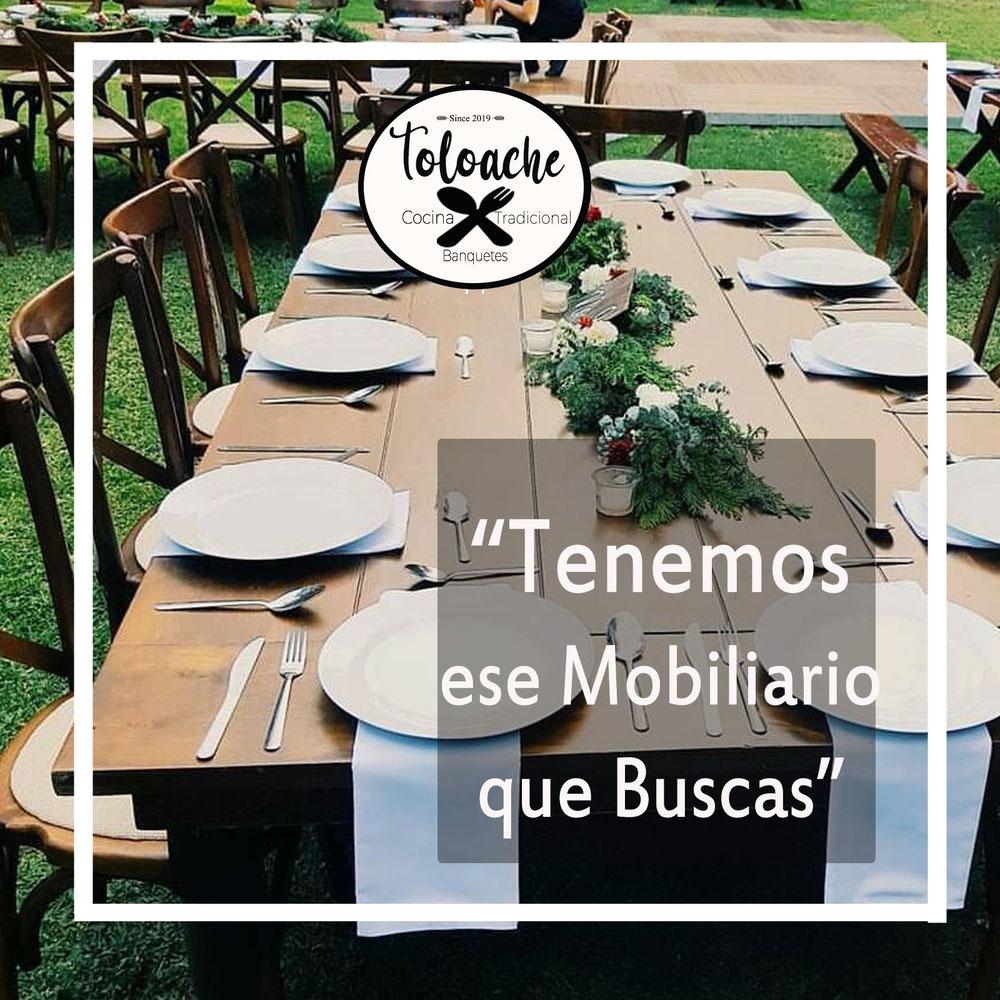 Renta de mesas y sillas para boda o fiestas en cuernavaca morelos