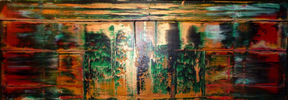 THE SQUEEGEE TECHNIQUE - JOE BAUER - ABSTRACT ACRYLIC ART