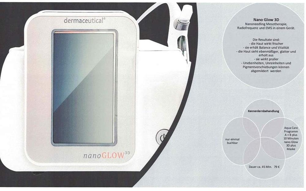 Kennenlernbehandlung Nanoneedling und Hydrocare