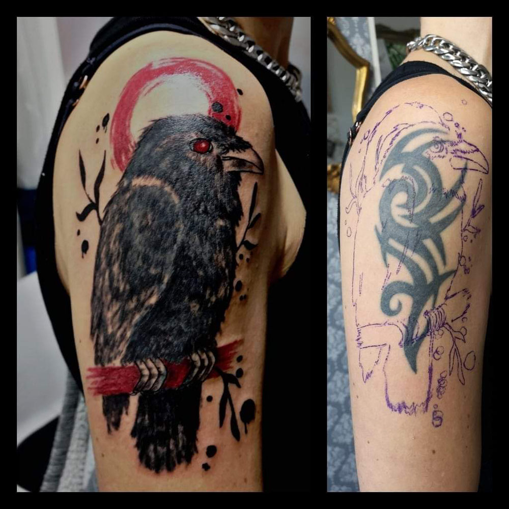 Cover up...