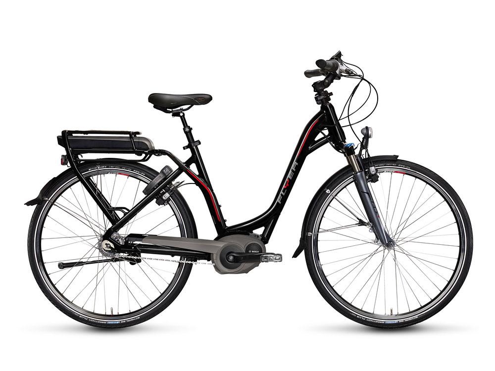 Der Testsieger: Das Flyer E-Bike B8.1