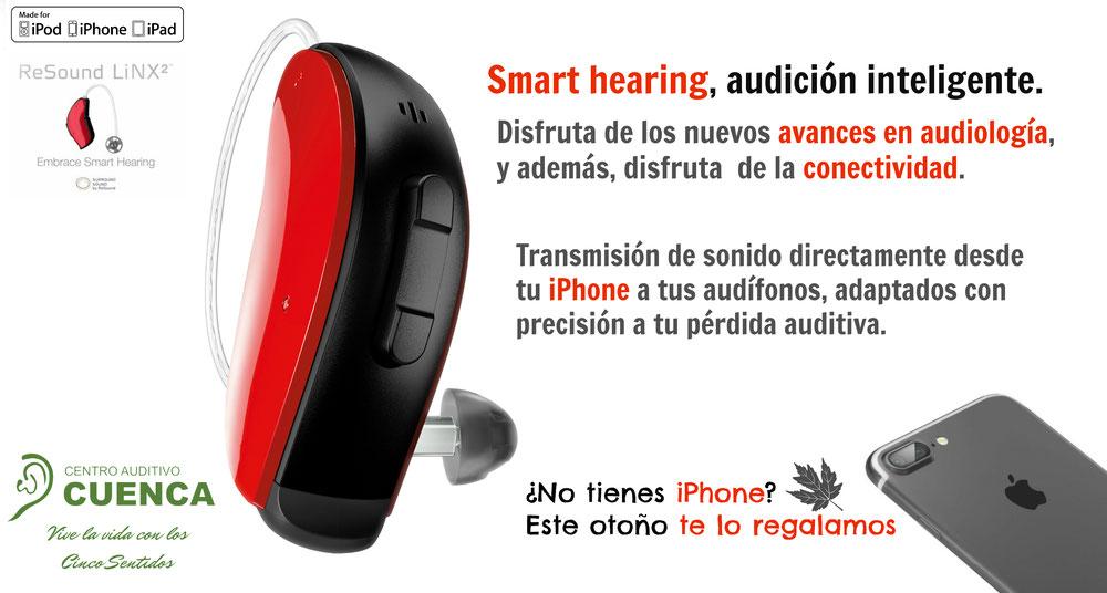 Campaña Otoño 2016, audífonos ReSound LiNX2 Centro Auditivo Cuenca.