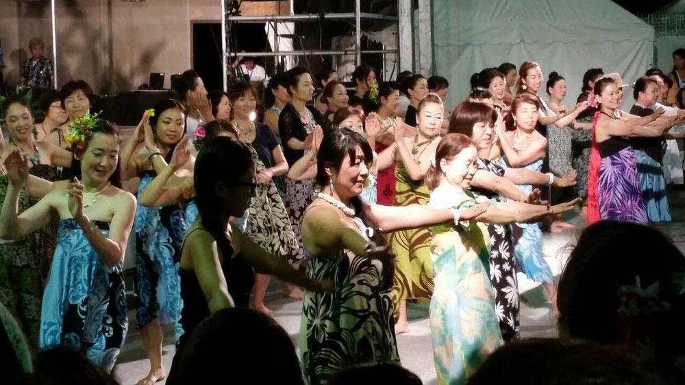 伊香保フラフェスティバル