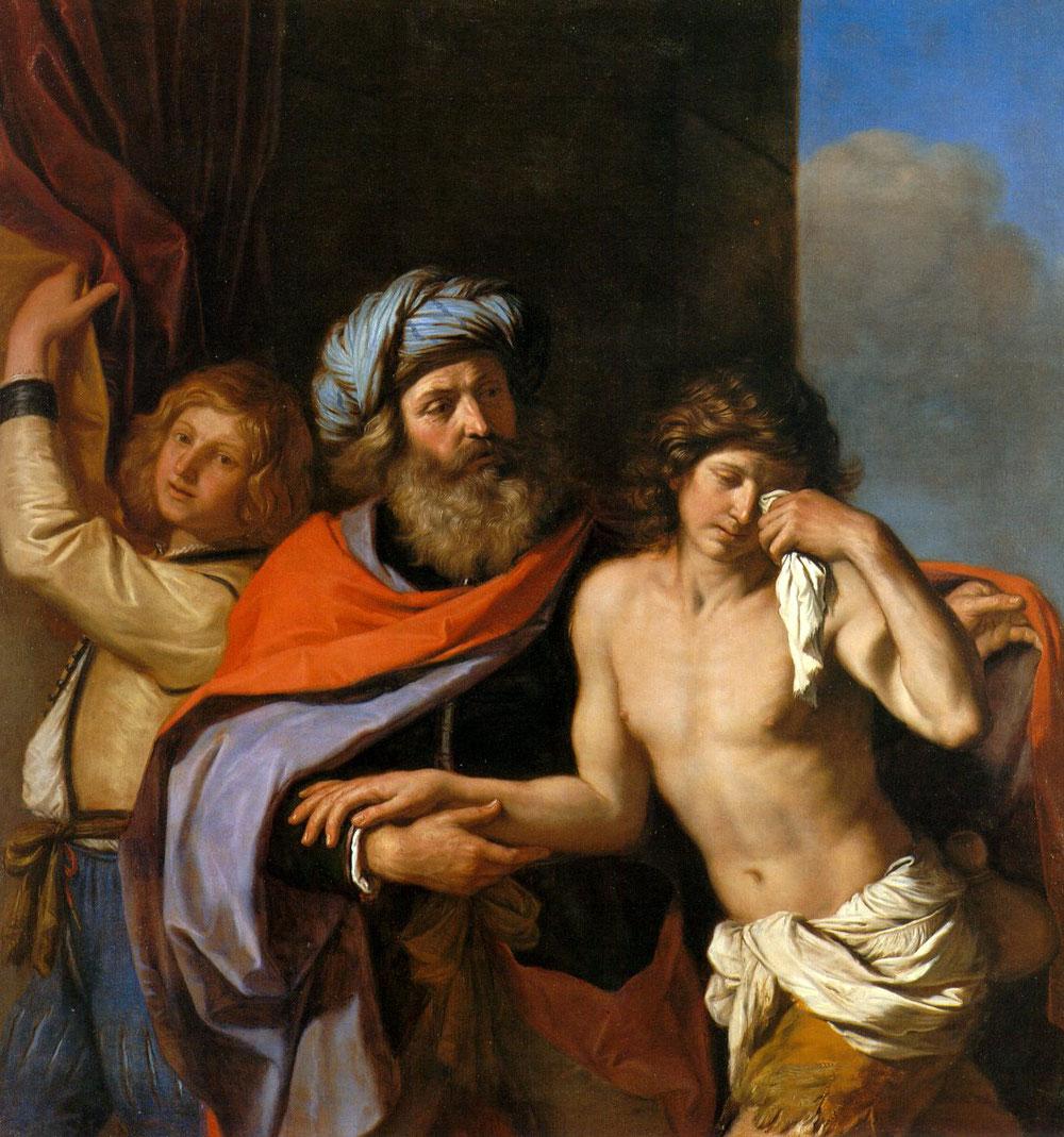グエルチーノ「放蕩息子の帰還」、1654―55年、ティムケン美術館