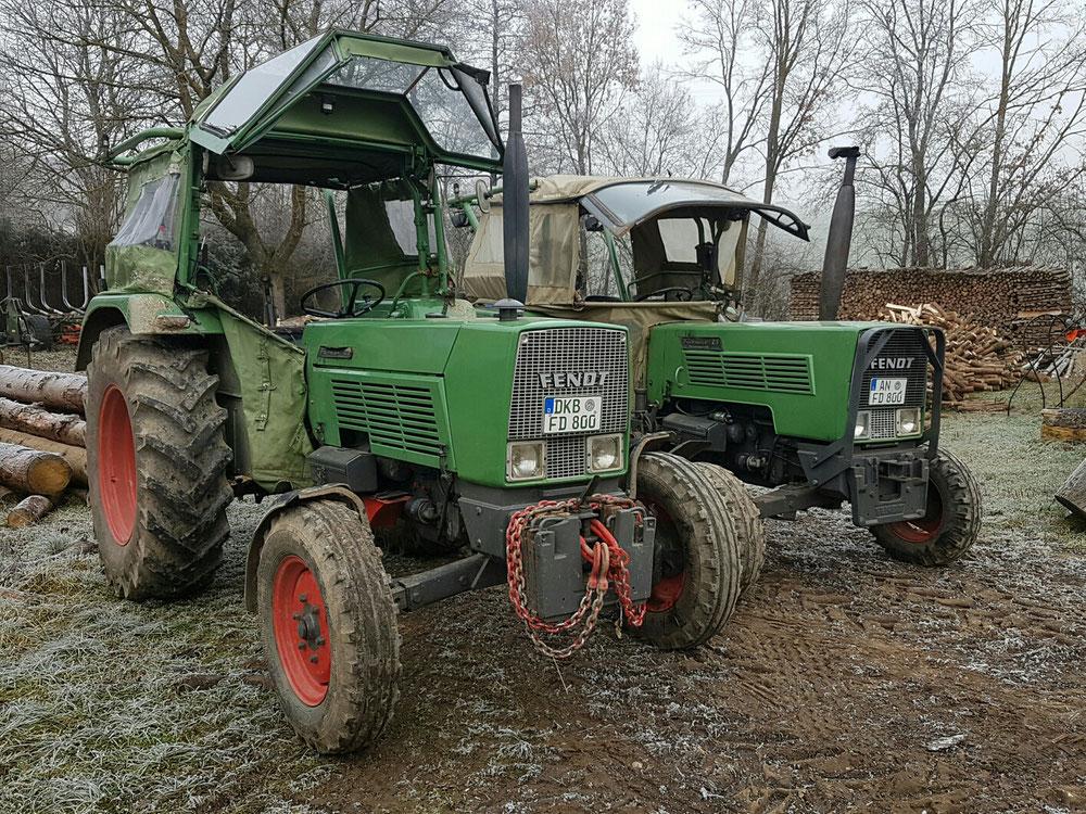 Fendt Farmer 4S und 2S im Einsatz
