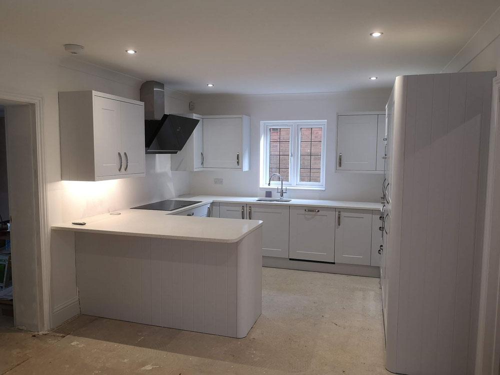 Langridges close kitchen & extension