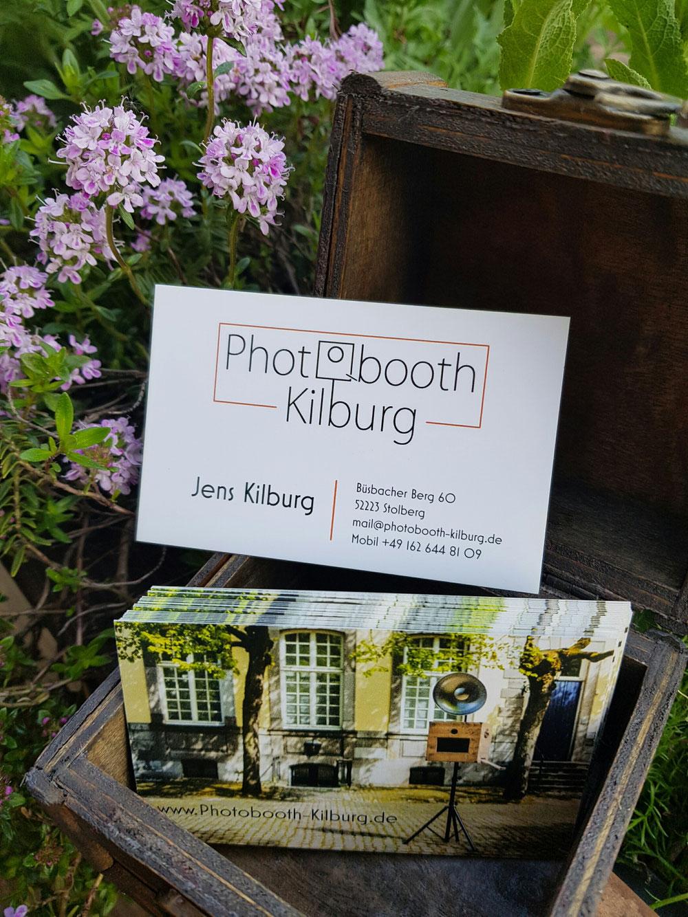 Die Neuen Visitenkarten Sind Da Fotobox Im Raum Aachen