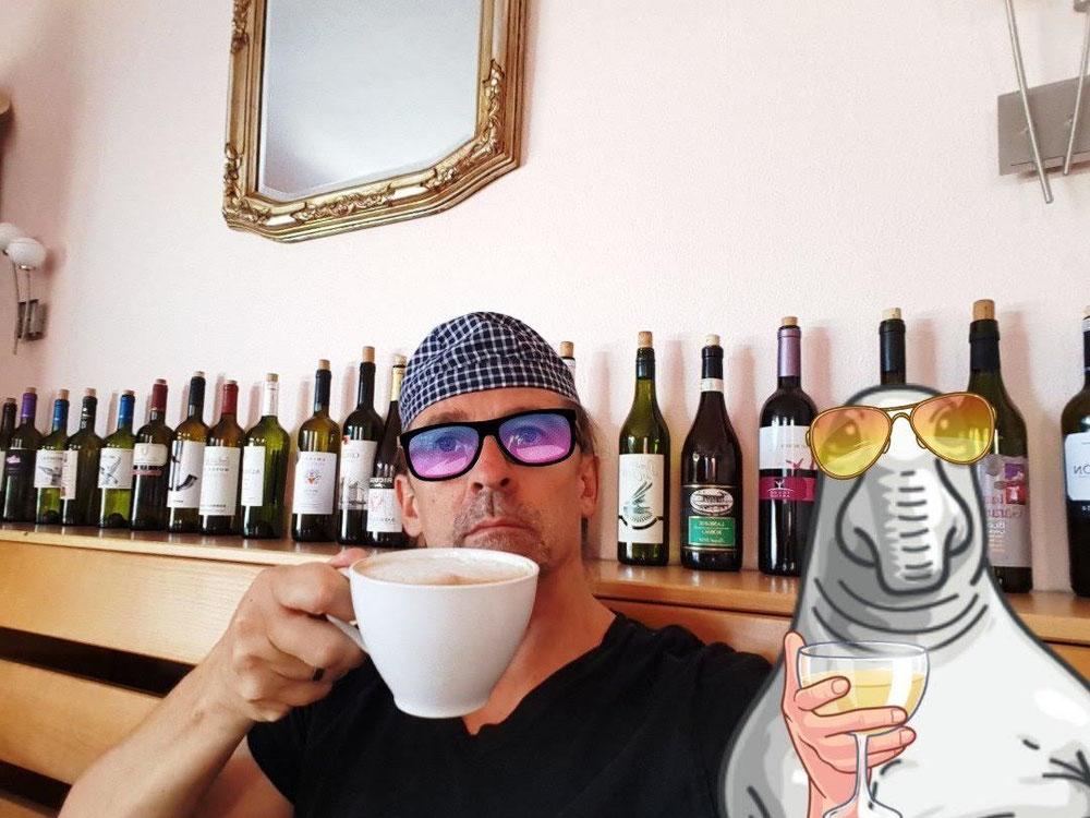 Pause café  avec  john