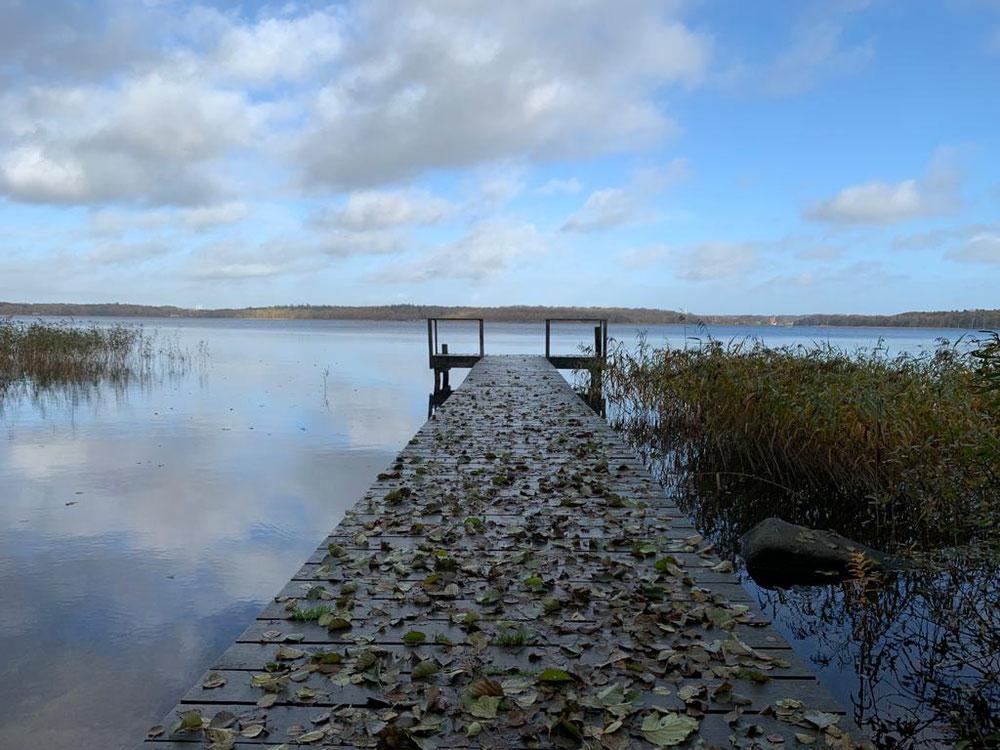 Herbstliche Stimmung an einem See