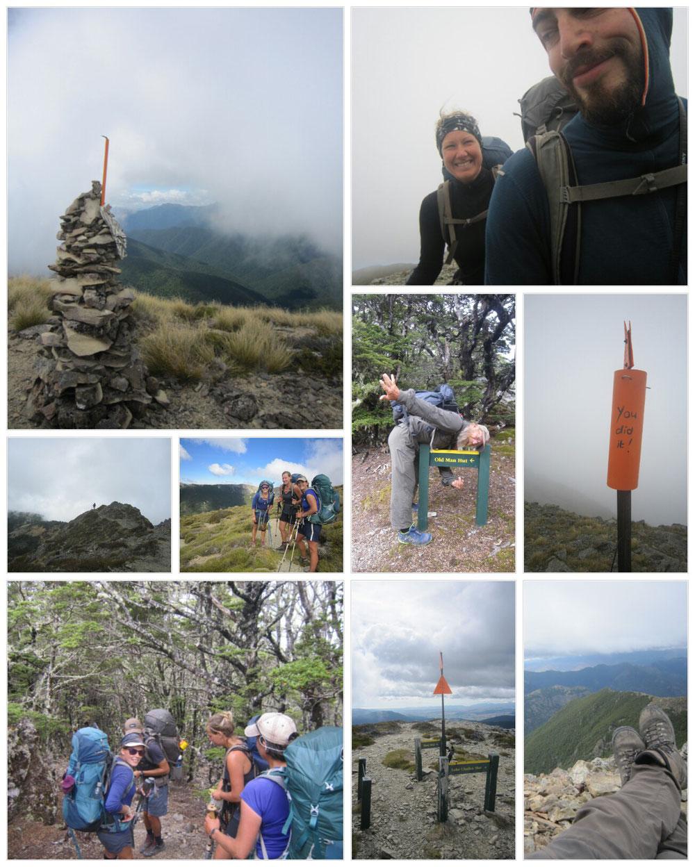 Mt. Rintoul und der alte Mann