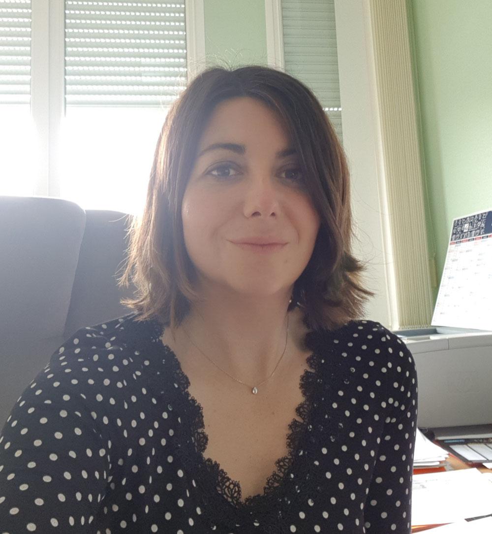 Christelle Caplin-Dahenne,  secrétaire départementale Oise