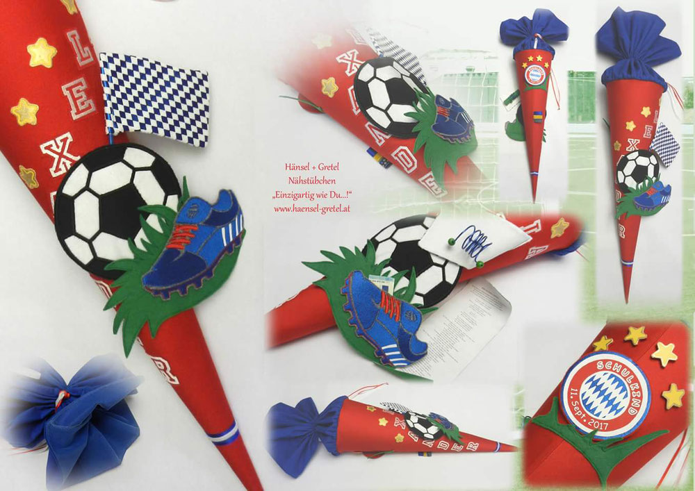 Schultüte Fussball für Bayern Fan