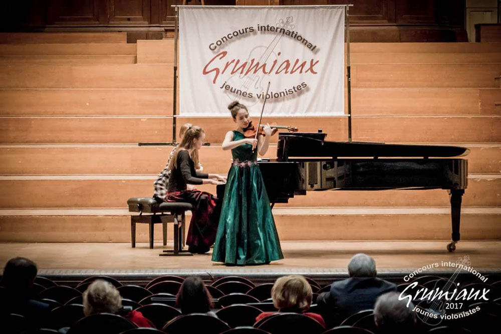 Final Grumiaux International Violin competition 2017