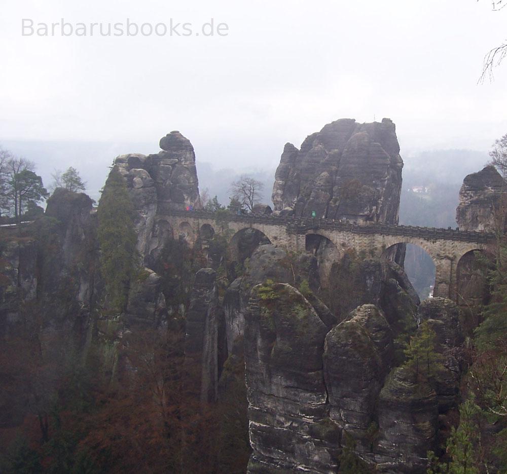 Bastei Festung Brücke Sachsen