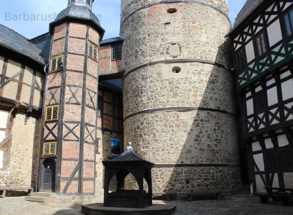 Burg Falkenstein im Harz Burgplatz