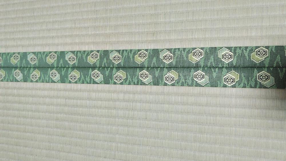 畳縁は、フローレンス No220を使用しました。