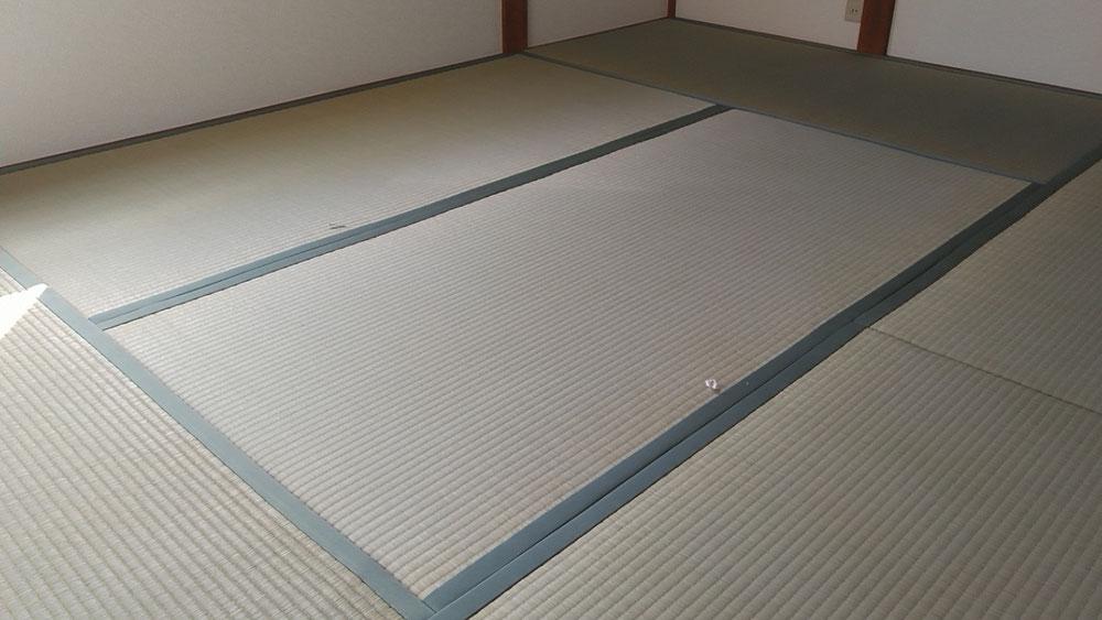 2階6畳間に熊本産表を使用して、納品しました。