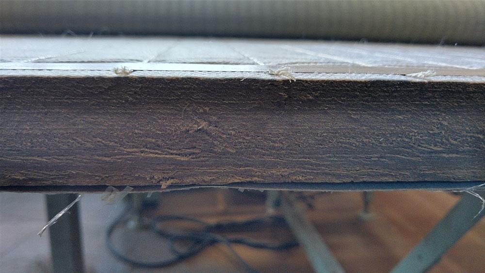 新畳、建材床36㎜仕上がりです。