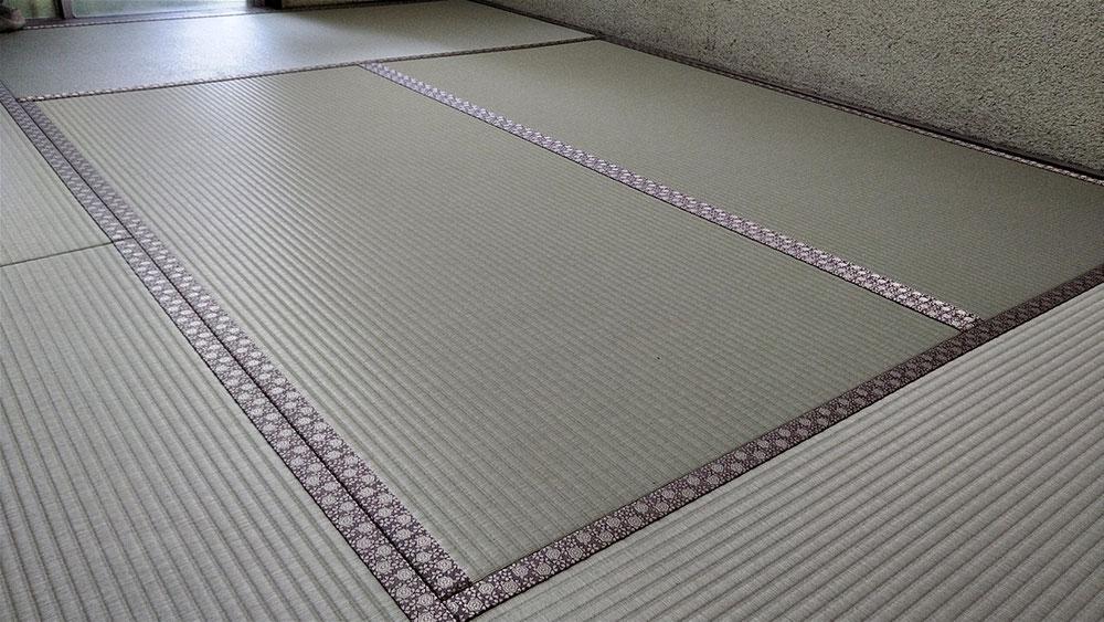 セキスイMIGUSA表を使用して、新畳を納品しました。