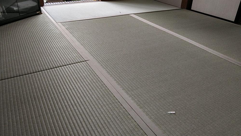 熊本産表を使用して、新畳を納品しました。