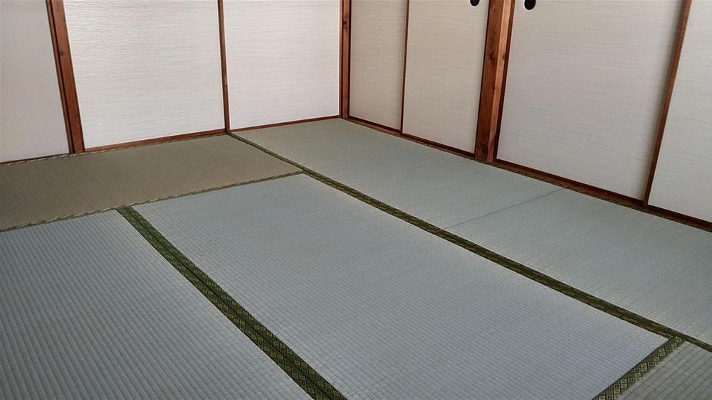 小田原市営住宅の畳替えをしました。
