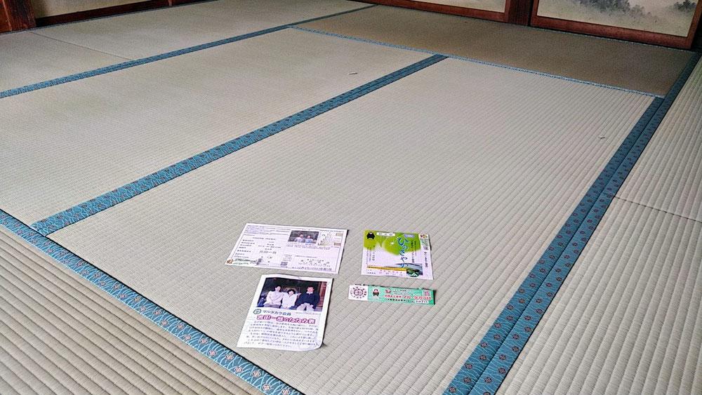 熊本産表を使用して新畳を納品しました。
