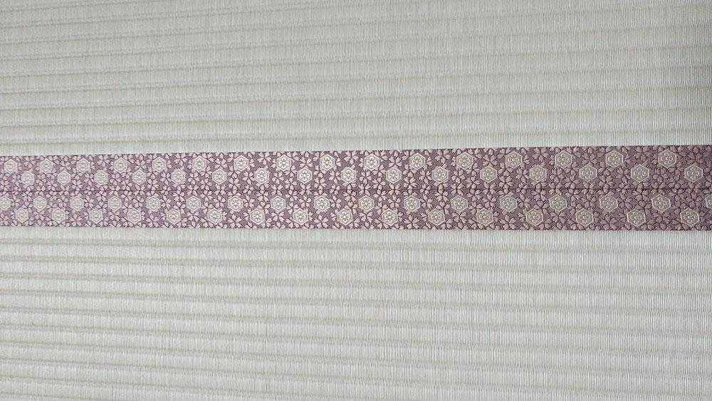 畳縁は、アラベスクⅤ No570を使用しました。