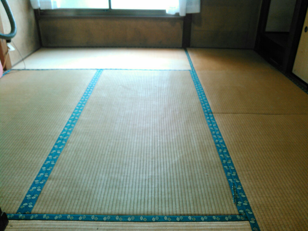 今まで使用されていた畳です。