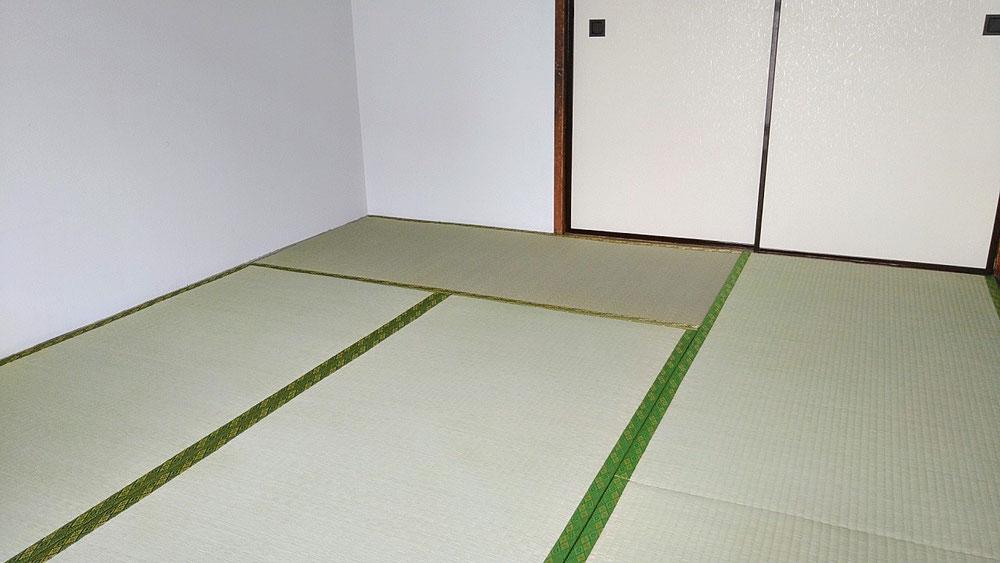 小田原市営住宅に畳を納品しました。