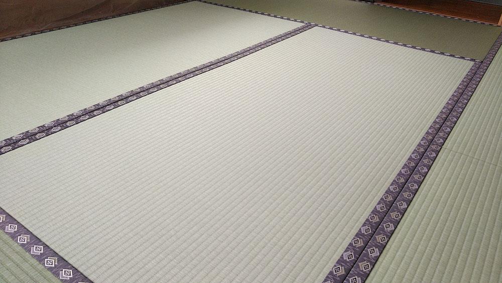 ダイケン健やか表を使用して、新畳を納品しました。