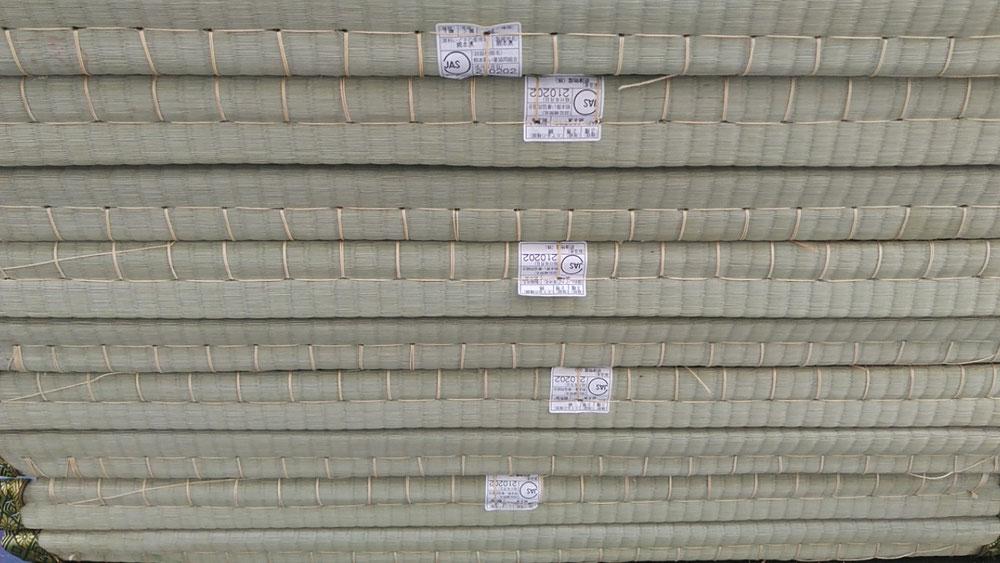 熊本産JAS2等の畳表を使用しました。