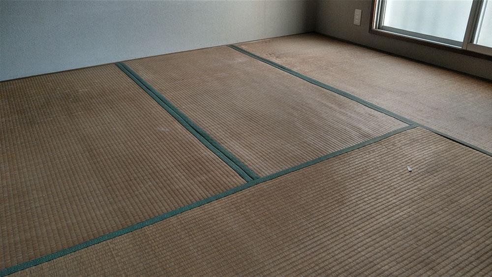 小田原市営住宅の畳の引き取りに行きました。