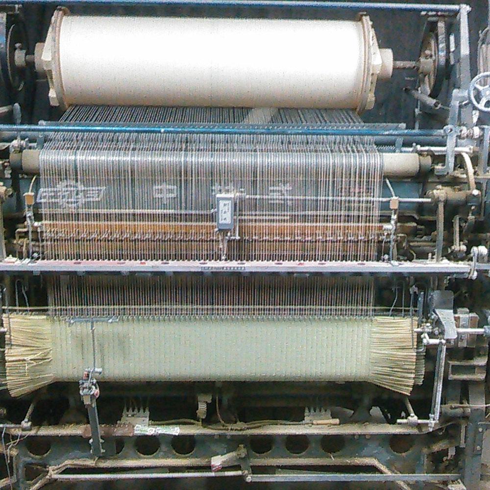 選別したい草を織っているところです。