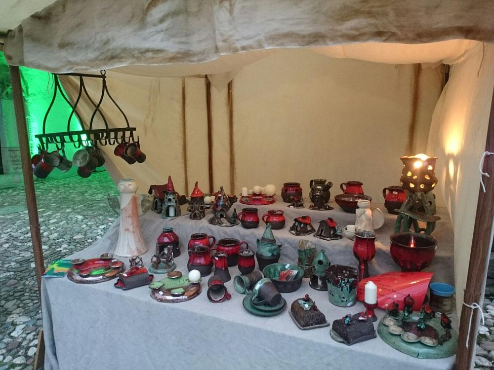 Angebot zum Weihnachtsmarkt im Schloß Hinterglauchau tag eins.